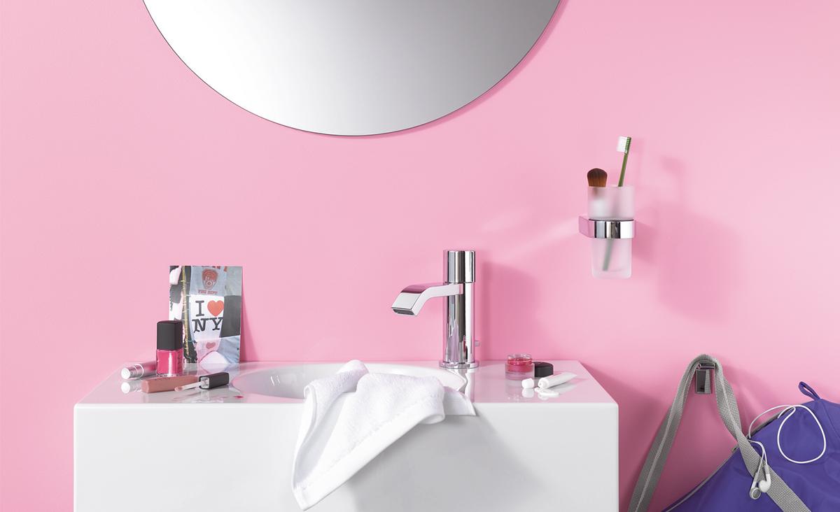 Frisse kleuren in de badkamer inspiratie saniweb.be
