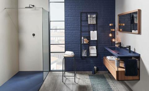 Nieuwe trend: kleur in de badkamer