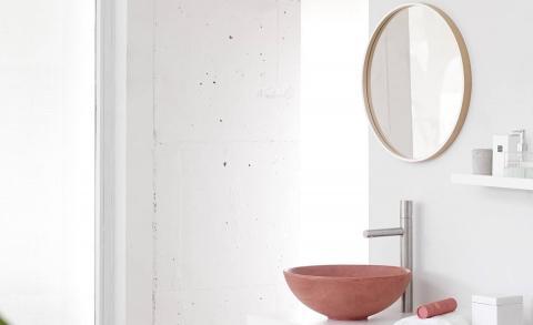 Nieuwe badkamertrend gespot: ronde spiegels