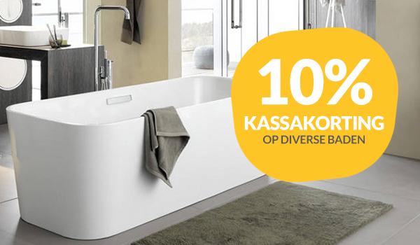 10% korting op baden