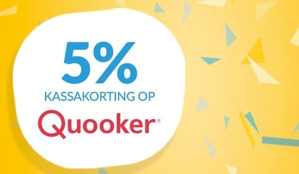 10% kassakorting op Quooker