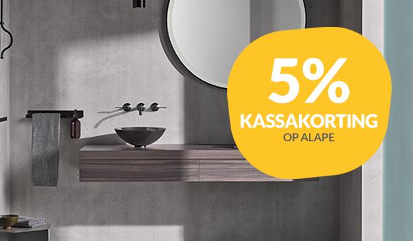 5% kassakorting op Alape