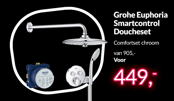 Grohe Euphoria comfortset Black Friday deal