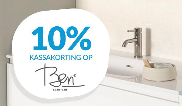 10% kassakorting op Ben